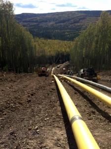 Pipeline Hillside